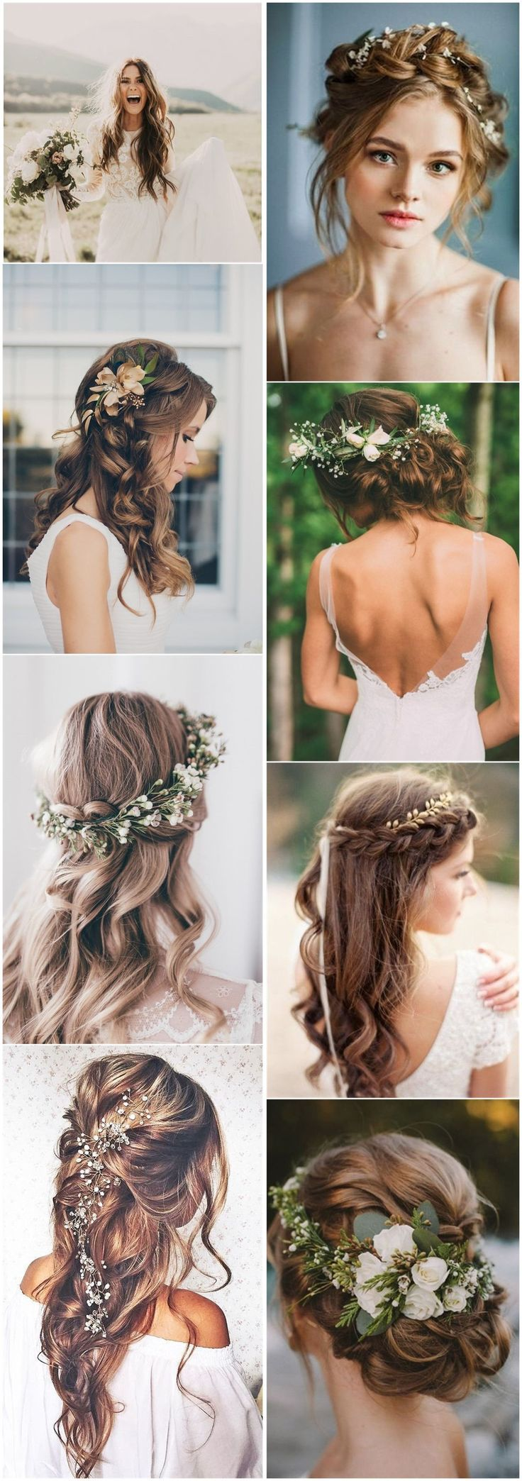 21 Inspiring Boho Bridal Hairstyles Ideas to Steal – #Boho #Bridal #Hairstyles #…