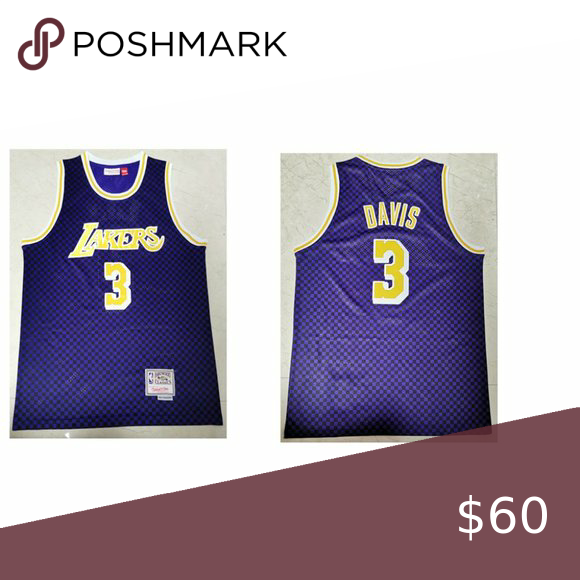 Los Angeles Lakers Anthony Davis Jersey Welcome New And Old Customers To Place Orders All Good Condition And Good Servi In 2020 Anthony Davis Los Angeles Lakers Jersey