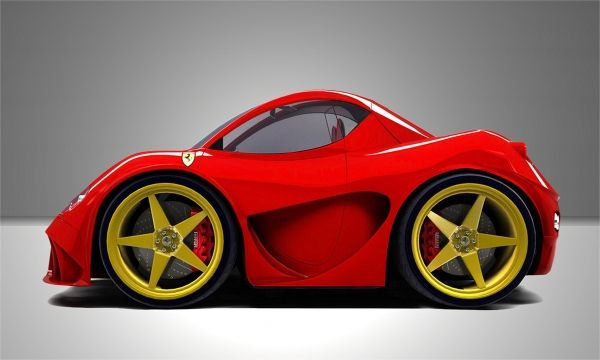 Mini My Ferrari 3 Mini Cars Smart Car Body Kits Tiny Cars