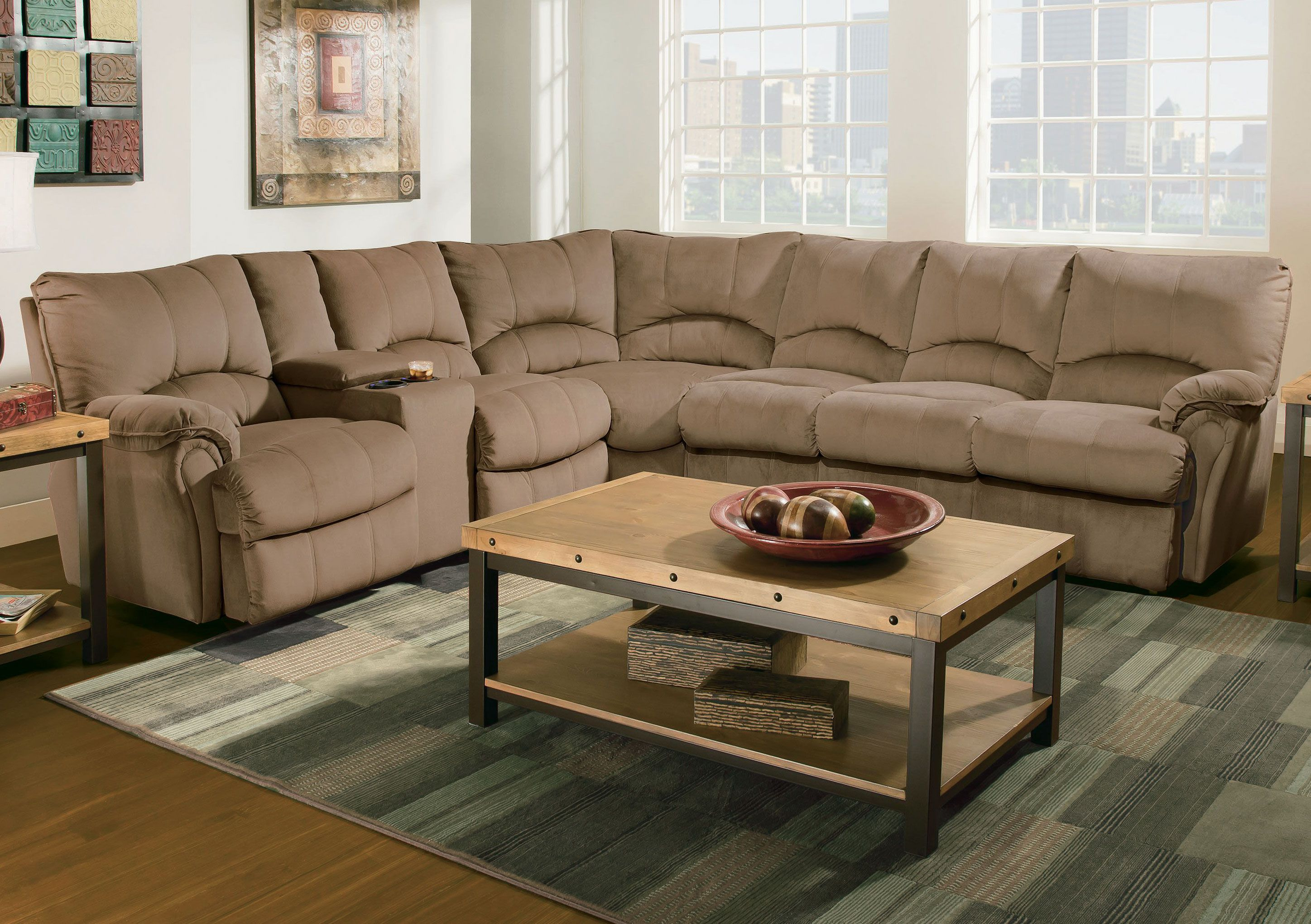 Grand Home Furnishings Modern Sofa Sectional Reclining Sectional Power Reclining Sectional Sofa