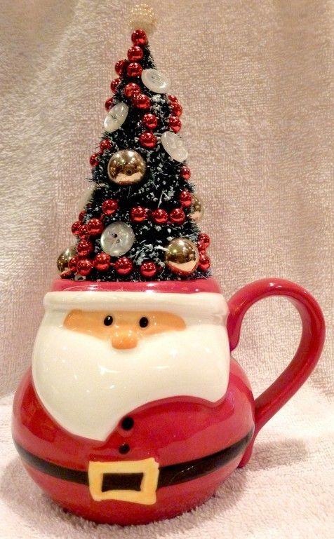 Attractive Christmas Craft Ideas 2013 Part - 6: 2013 Christmas Mug Ideas, Cute Santa Mugs, DIY Christmas Mug Design