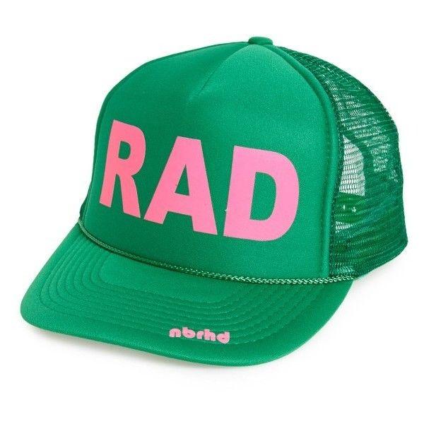 Women s Nbrhd Rad Trucker Hat (17.480 CLP) ❤ liked on Polyvore featuring  accessories eb1b061f7b2