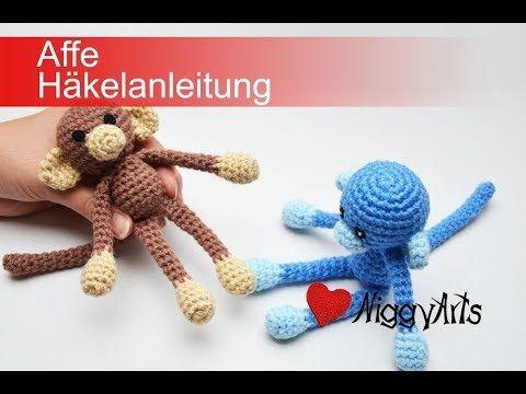 Häkelanleitung Affe Youtube 4 2018 Pinterest Crochet