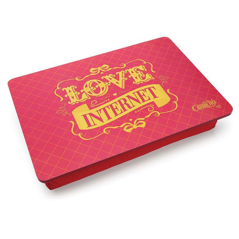Bandeja de Laptop Love Internet - Rain Coat