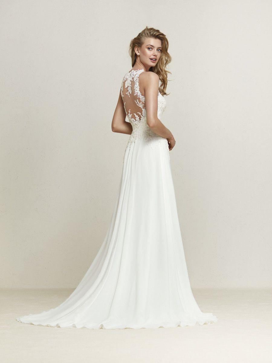 Abiti Da Sposa 2018 Pronovias.Pronovias 2018 Dramis Pronovias Wedding Dress Wedding Dresses