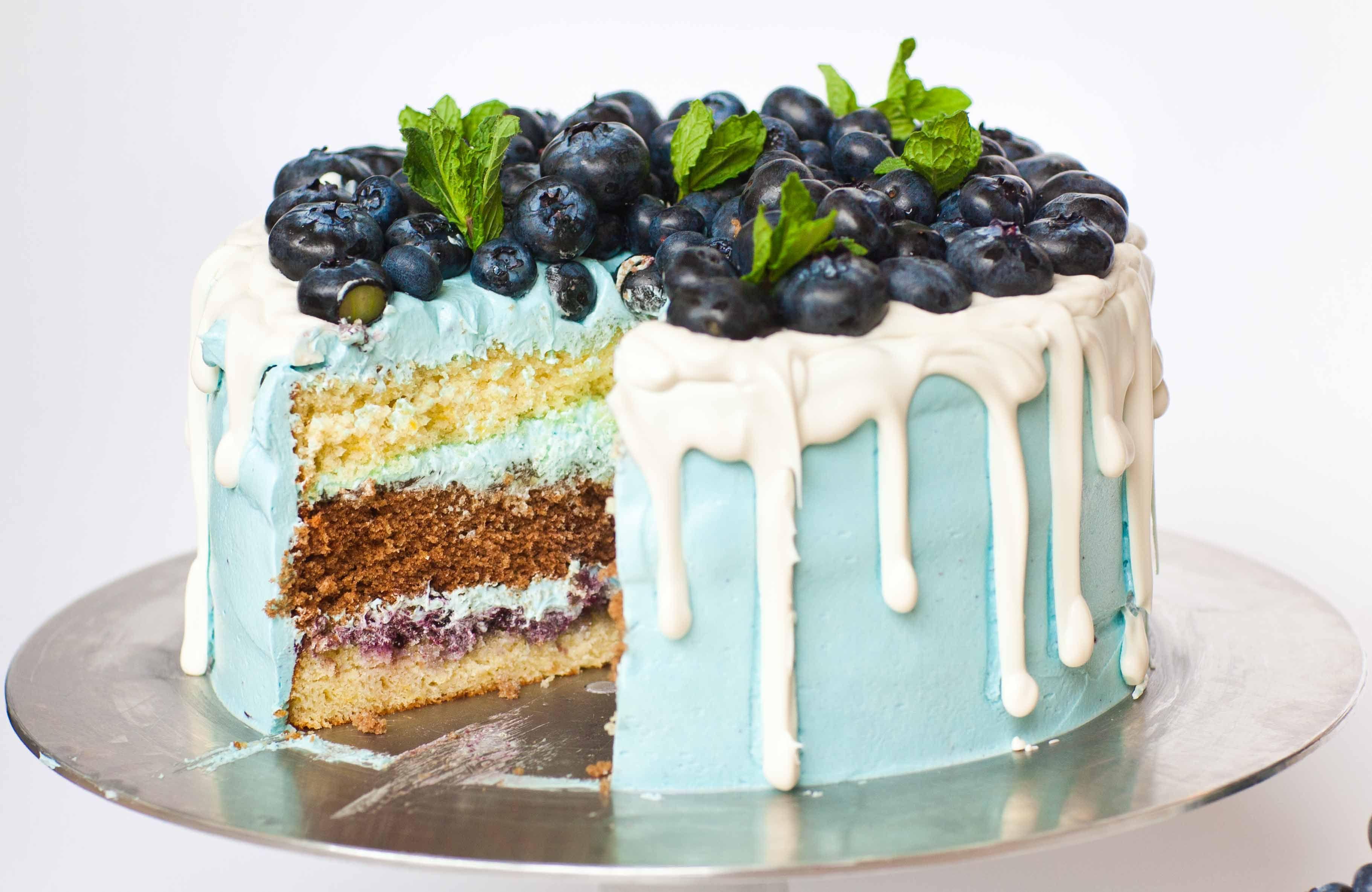 Lemon Blueberry Cake Video Tatyanas Everyday Food Recipe Blueberry Lemon Cake Fruity Cake Cake