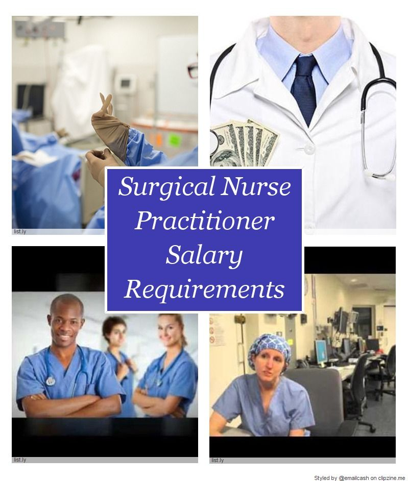 Surgical Nurse Practitioner Salary Requirements Jobs