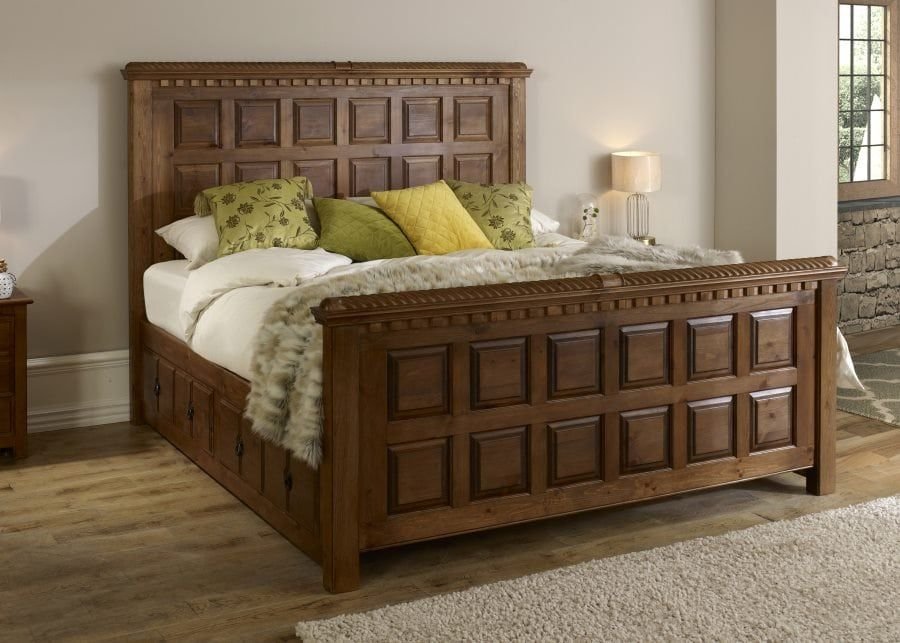 Traditional Solid Wood Bed   The Luxurious County Clare ...