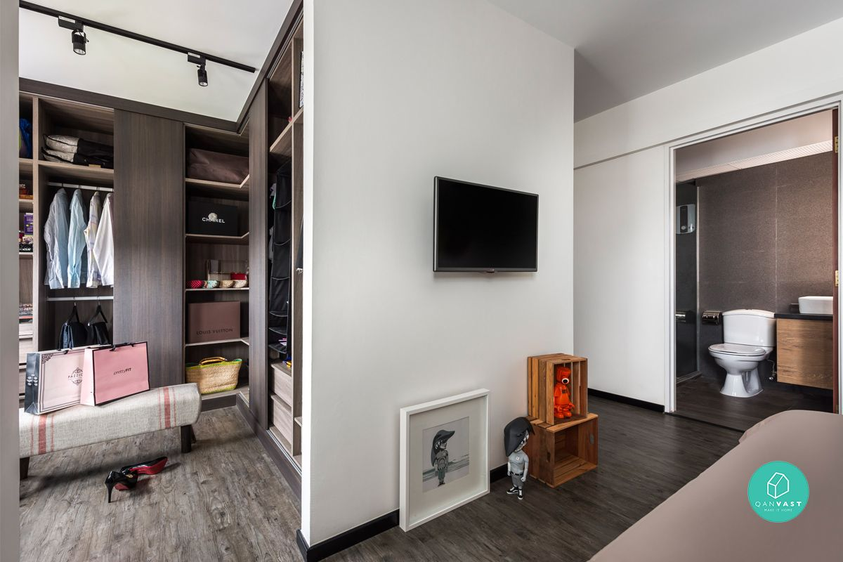 How To Fit A Walk In Wardrobe In Your Tiny Hdb