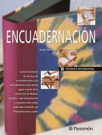 TECNICAS DECORATIVAS ENCUADERNACION