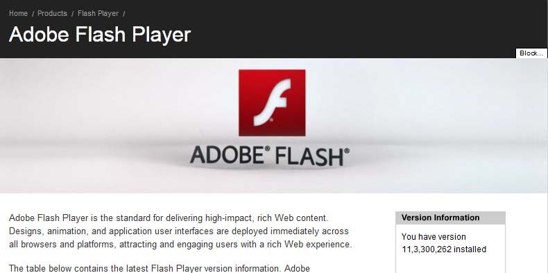 adobe flash player 11.3 free download for mac