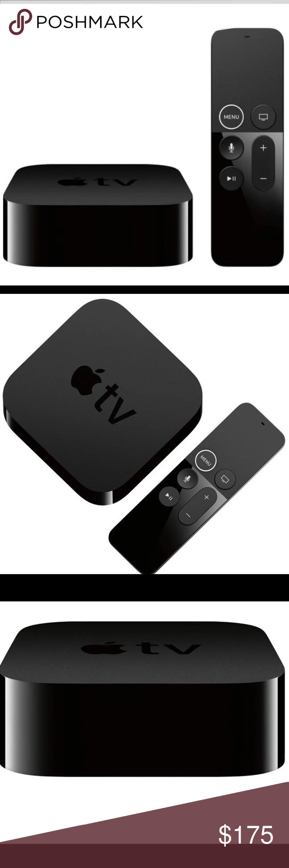Apple TV 32GB (latest model)4K HD From TV shows to