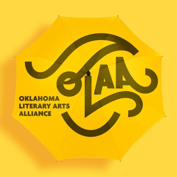 Oklahoma Literary Arts Alliance branding by Andrei Robu
