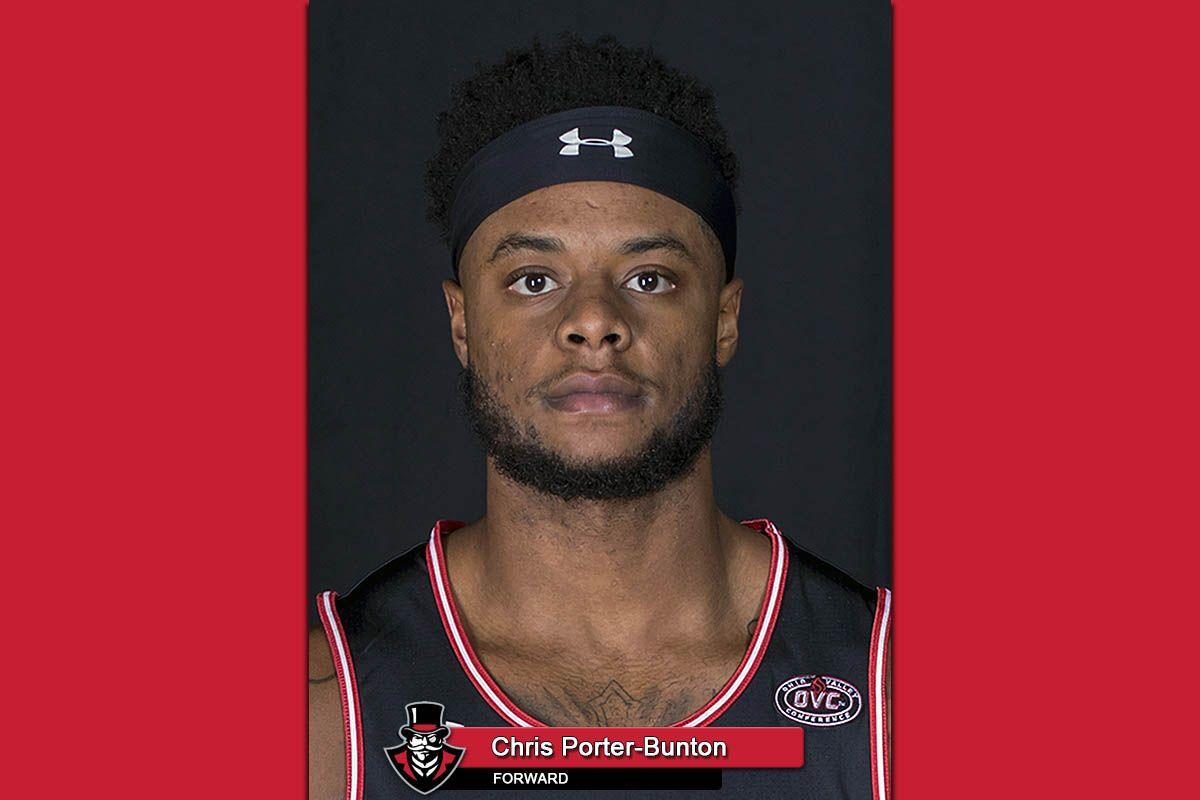APSU Basketball's Chris PorterBunton named TSWA Player of