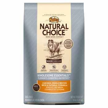 12% Off was $58.99, now is $51.99! NUTRO 791228 Natural Choice Chicken/Brown Rice/Oatmeal Food for Senior Dog, 30-Pound