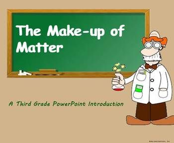 The make up of matter a third grade powerpoint introduction periodic table urtaz Choice Image