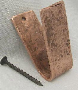 Copper Hook. Designer Copper Hanger. Copper by ruddlecottage