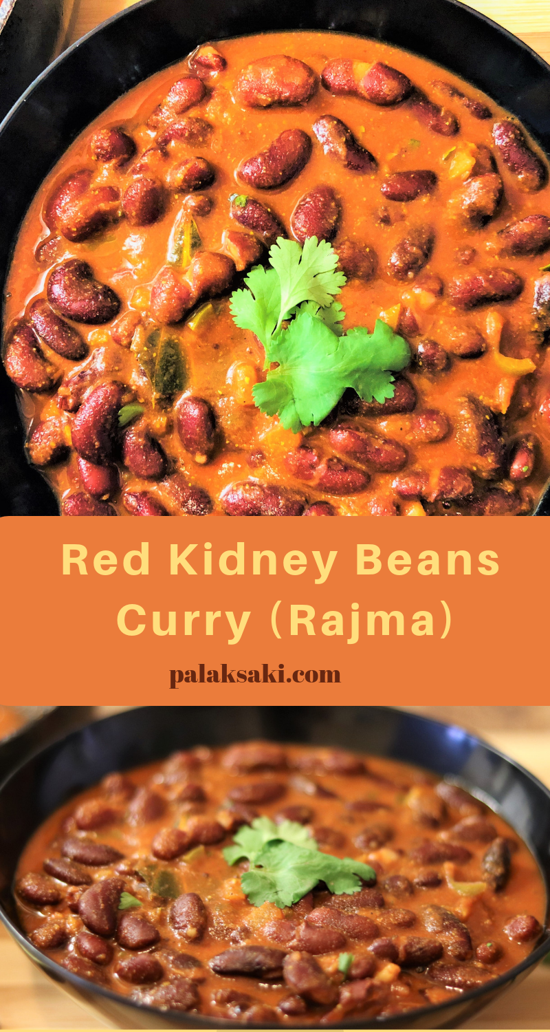 Red Kidney Beans Curry Rajma Recipes Palak Saki Recipe Rajma Recipe Beans Recipe Healthy Recipes With Kidney Beans