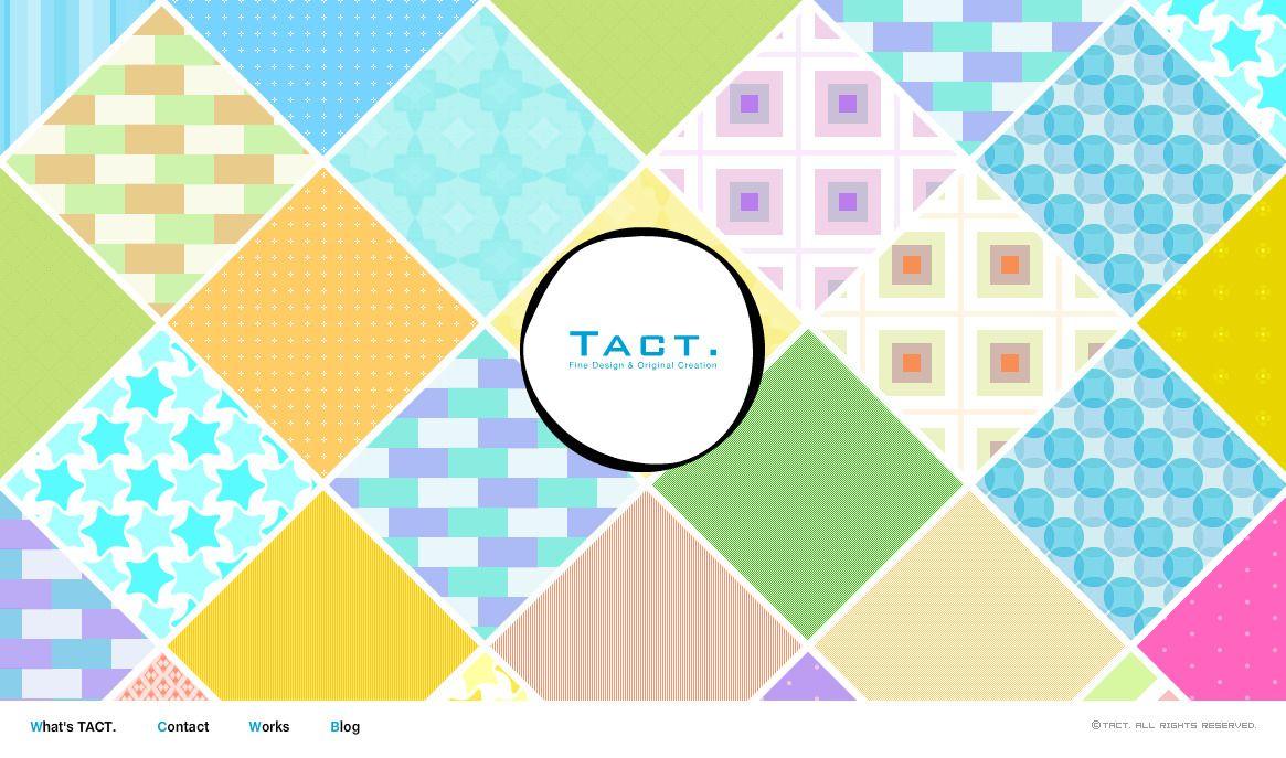 portfolio - http://www.tact-design.jp