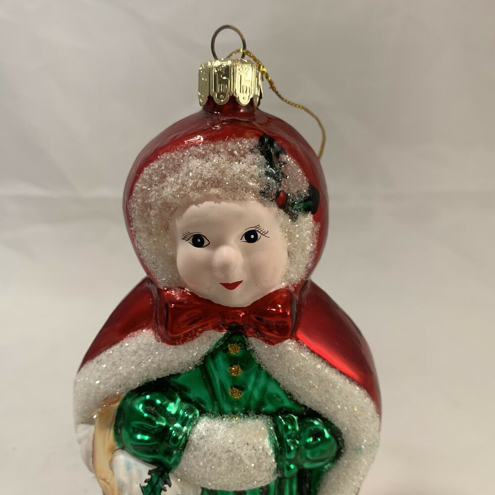 Santa S Best Mrs Claus Glass Christmas Ornament 6 5 In Made In China Hallmark Christmas Ornaments Christmas Ornament Sets Glass Christmas Tree Ornaments