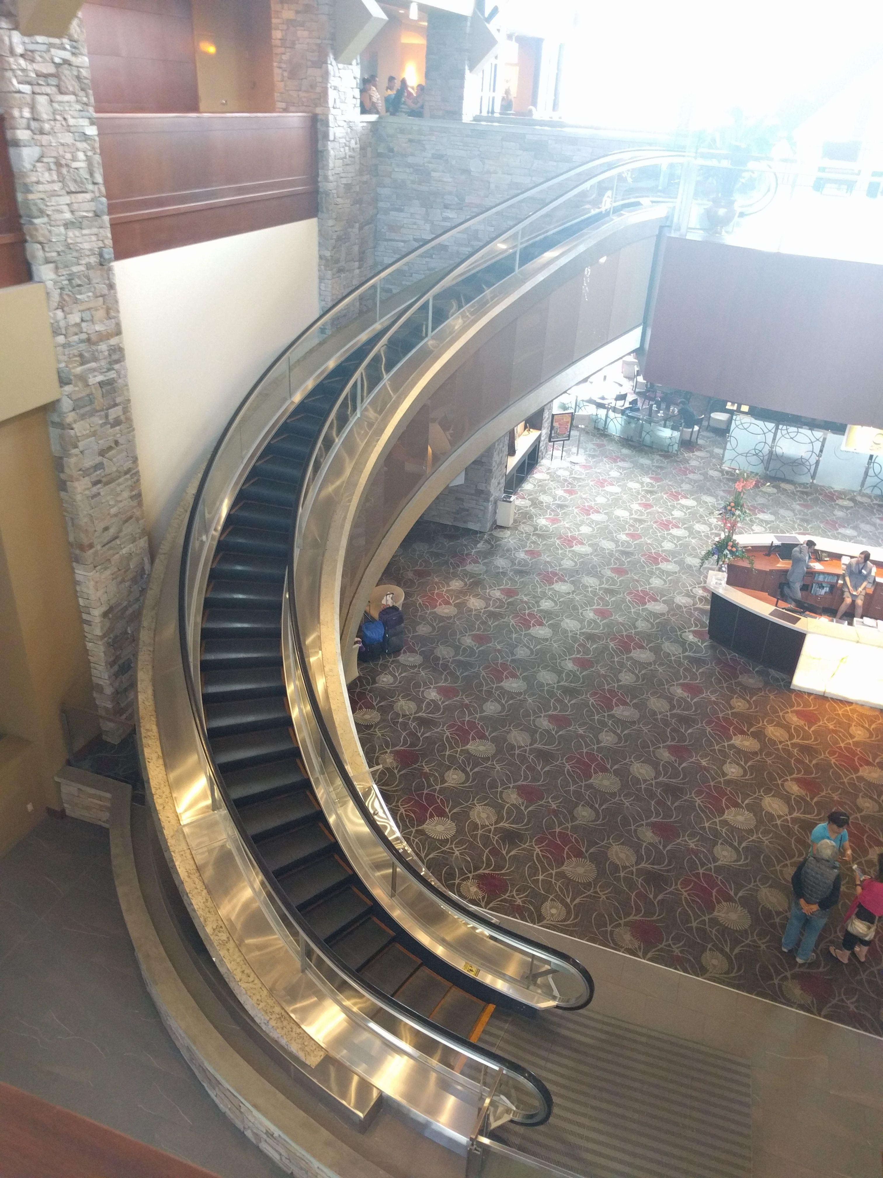 My Hotel Had Curved Escalators Curved Escalators Http Ift Tt 2cf7hjw Escalator Hotel Architecture