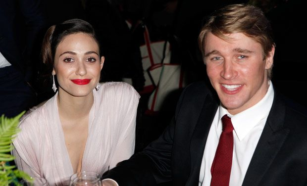 Tyler Jacob Moore is dating Emmy Rossum currently. Both the stars are acting in the show Shameless...