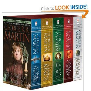 George R. R. Martin's A Game of Thrones 5-Book Boxed Set (Song of Ice and Fire series): A Game of Thrones, A Clash of Kings, A Storm of Swor...