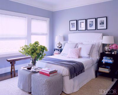 periwinkle is so hard to match with love this bedroom color