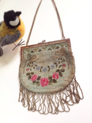 #Beautiful 1920s true #vintage #beaded bag,  View more on the LINK: 	http://www.zeppy.io/product/gb/2/272061715837/