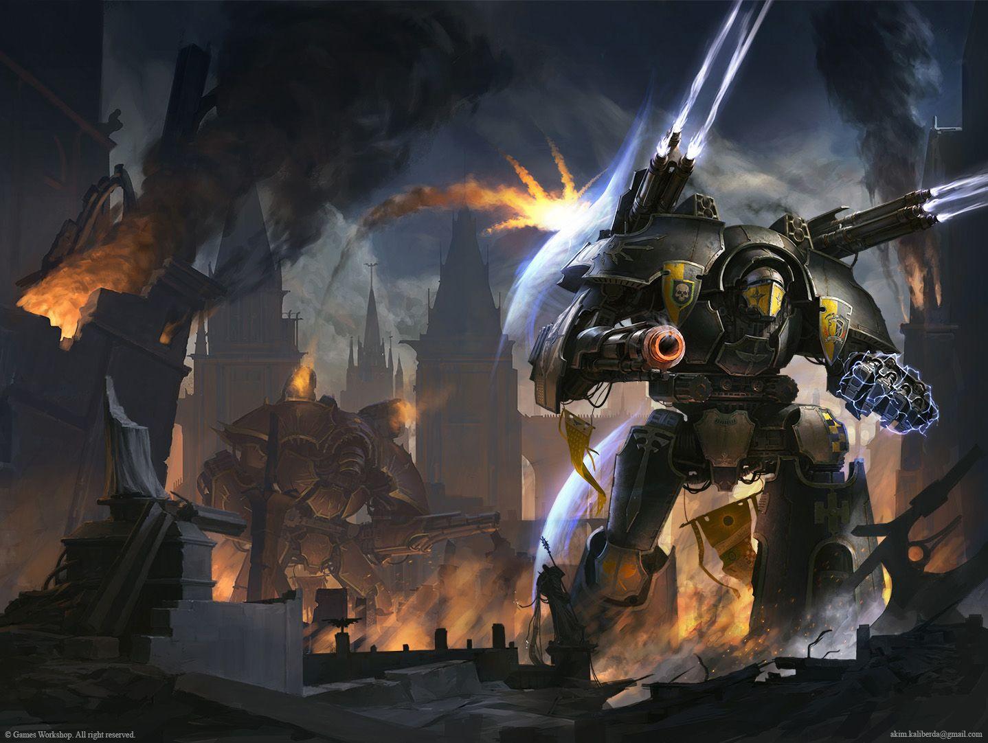 Warlord: Fury of the God-Machine by AKIMBLYA on DeviantArt