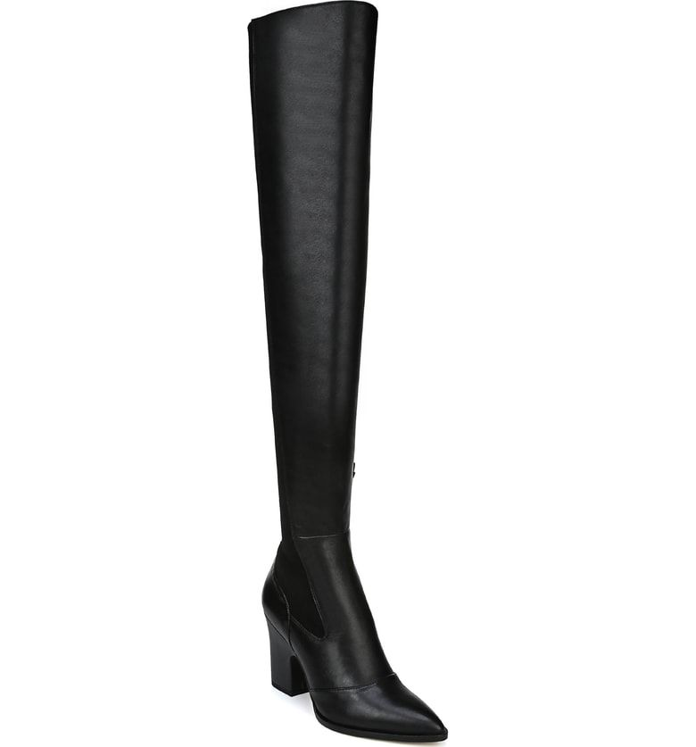 eab84e97fb8 Free shipping and returns on Sam Edelman Natasha Over the Knee Boot (Women)  at Nordstrom.com. A dramatically pointed toe elongates an over-the-knee boot  in ...