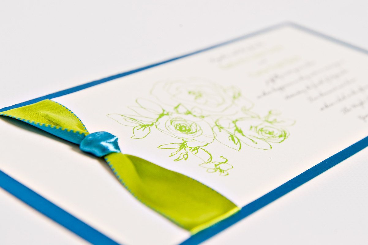 Electric Blue and green weddings | Bold-wedding-ideas-electric ...
