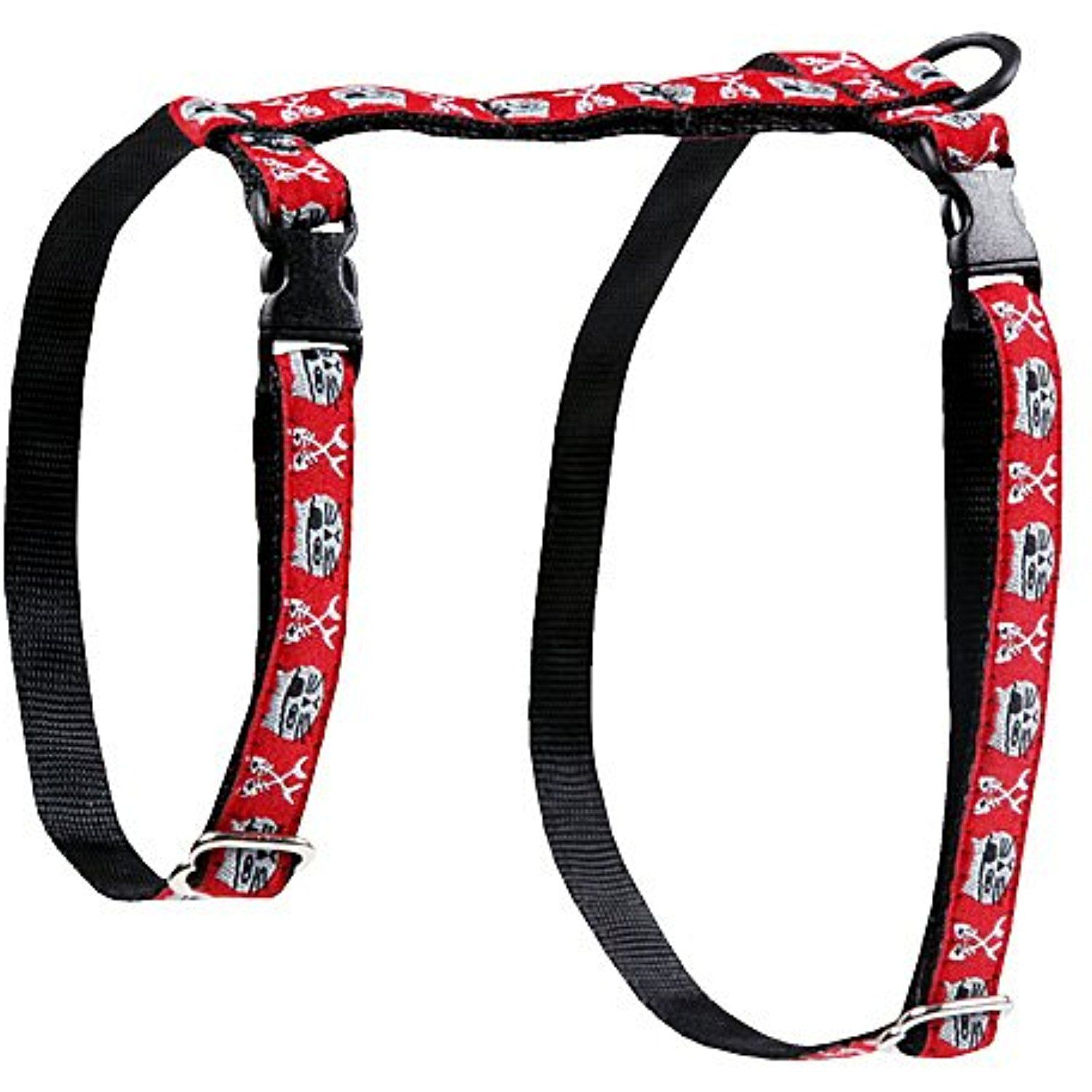 RC Pet Products 1/2Inch Kitty Harness, Large, Pirate Cat
