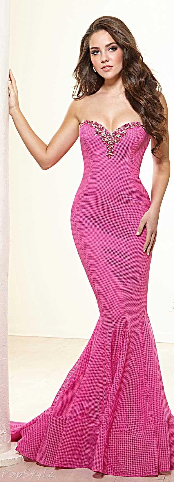 Terani Couture Fuchsia Gown | Gown Rage | Pinterest