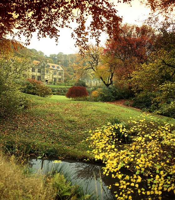 Autumn in Mount Grace Priory, England
