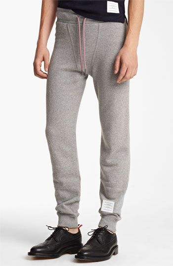 8d8a7700 Thom Browne Cotton Terry Sweatpants available at #Nordstrom | Sweatpants