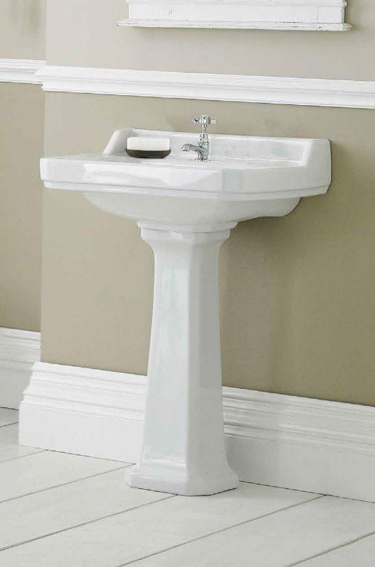 Ceramic Pedestal Basin Arlington 595 X 470 Pedestal Basin Basin