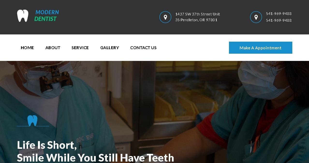 Deluxe Dentist Website Affordable Website Design Dentist Website Marketing Solution