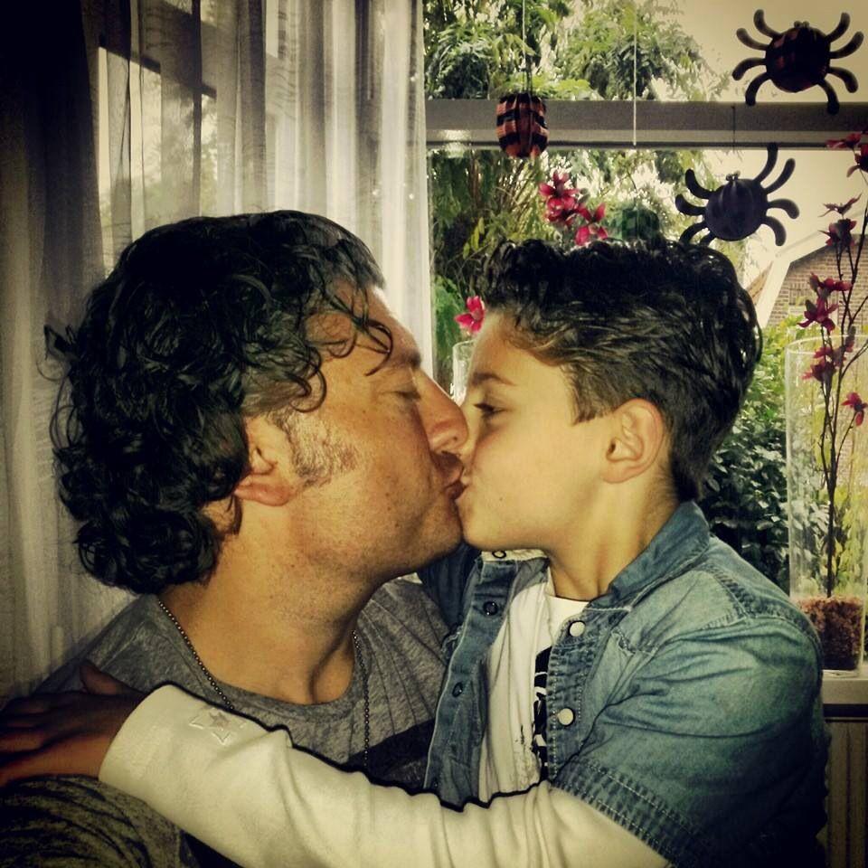Evolution of gay kisses on tv