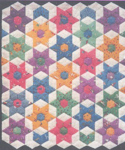 english paper piecing patterns - Google Search