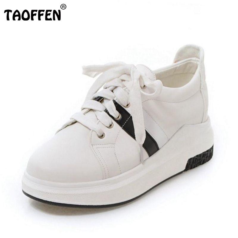a889554fba9b Height Increasing Women Shoes Spring Autumn Women s cross strap Shoes  Fashion Flats Shoes Swing Wedges