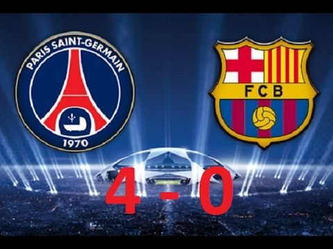 Match Result Psg Vs Barcelona Goals Psg Vs Barcelona Paris Saint Germain  All Goals Extended Highlights High Definition Hd Like Comments S