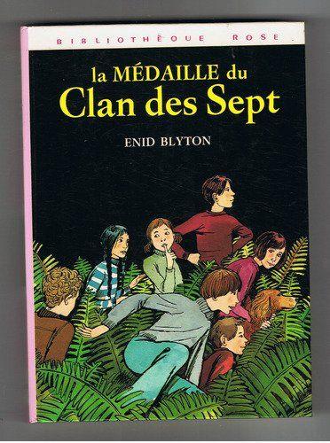 La médaille du clan des Sept - Illustrations de Françoise Pichard