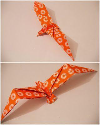 l i l a L U N I S  - EIne Faltanleitung für Origami-Möven