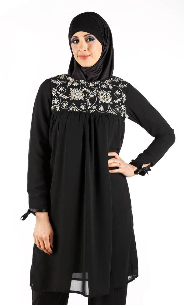 Ihram Kids For Sale Dubai: Black Evening Tunic