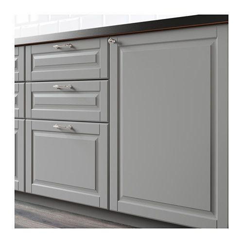 Ikea Kitchen Cabinet Refacing: Drawer Fronts, Bodbyn, Ikea