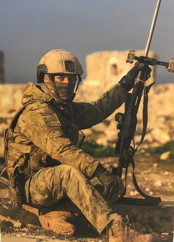 Russian Sf In Palmyra Highlighted The Firearm Blogthe Firearm Blog Special Forces Military Special Forces War Photography