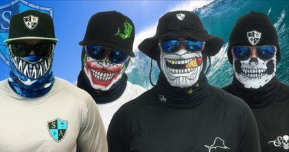 Sa Fishing Face Shields Bandana Multifunktionstuch Spf 40 Face
