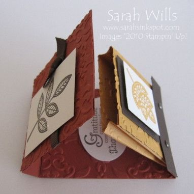 tutorial matchbook candy holder