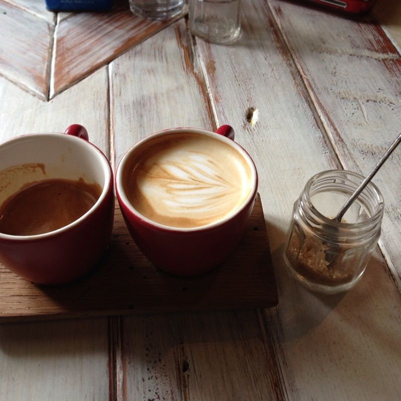 Spike-I-Atto @ Artifact Coffee | It's a double #macchiatto w… | Flickr